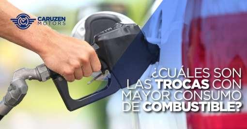 trocas con mayor consumo de combustible
